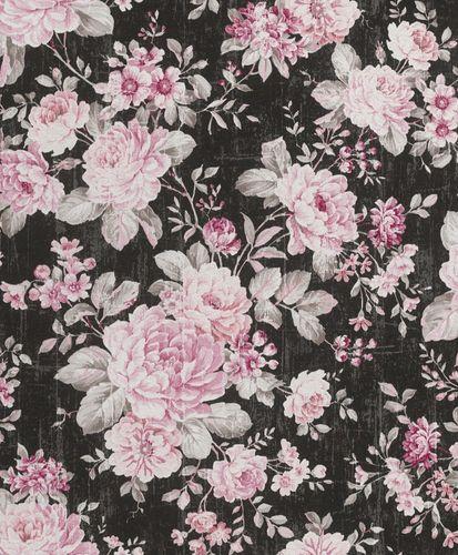Wallpaper Rasch flower vintage plain texture used design online kaufen