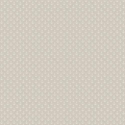 Wallpaper Rasch Textil anchors taupe white 021011