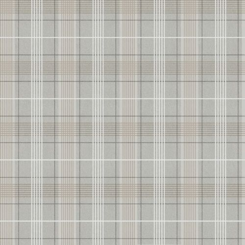 Wallpaper Rasch Textil plaid lines grey white 021023