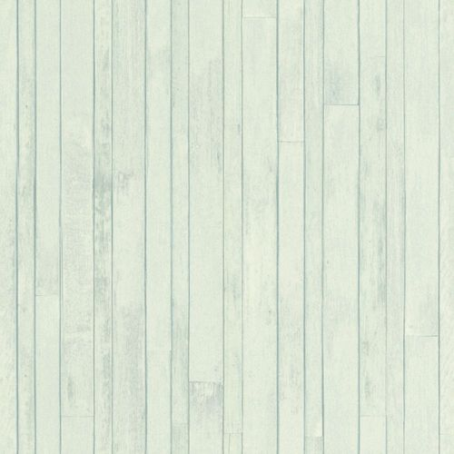 Wallpaper Rasch Textil wooden timber turqouis 128837 online kaufen