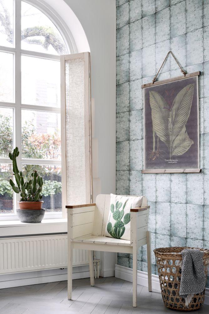 vliestapete rasch textil vintage fliese grau wei 138877. Black Bedroom Furniture Sets. Home Design Ideas