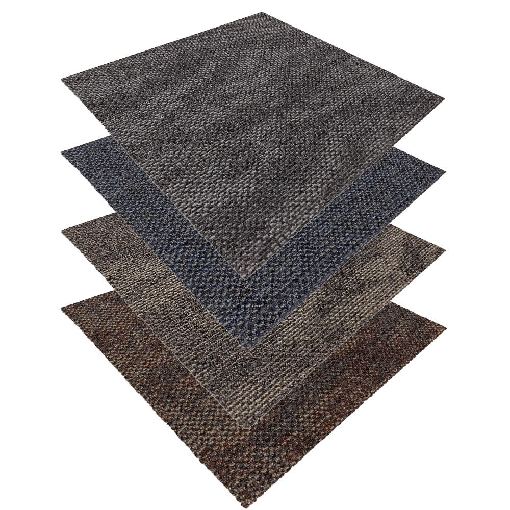 Carpet Tiles Quartz Carpet Rug Flooring Tile 50x50cm