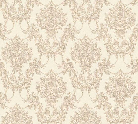 Vliestapete Ornament creme perlmutt Glanz AS Creation 34492-1 online kaufen