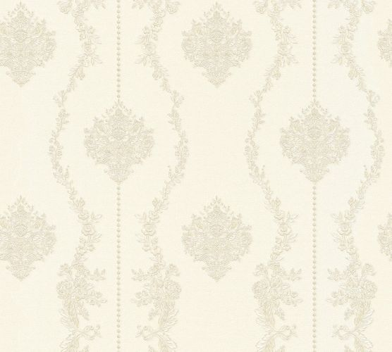 Wallpaper baroque white silver gloss AS Creation 34493-3 online kaufen