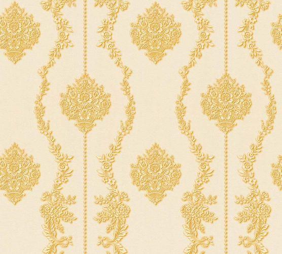 Vliestapete Barock weißcreme gold Glanz AS Creation 34493-4 online kaufen