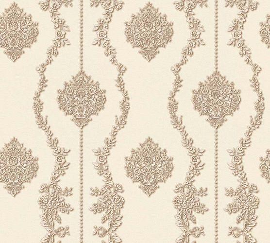 Vliestapete Barock weiß perlmutt Glanz AS Creation 34493-5 online kaufen