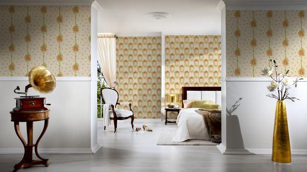 Wallpaper textured white gloss AS Creation 34503-1 online kaufen