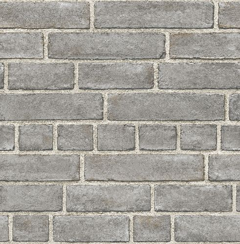 Wallpaper World Wide Walls stone wall dark grey 024050 online kaufen