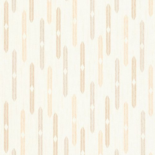 Wallpaper ethno rhomb cream light orange AS Creation 35119-1 online kaufen