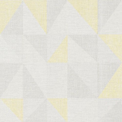 Wallpaper graphic triangle grey yellow AS Creation 35181-1 online kaufen
