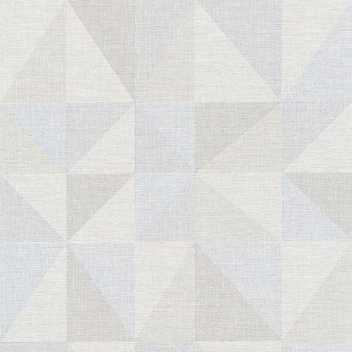 Wallpaper graphic triangle grey light blue AS Creation 35181-3 online kaufen