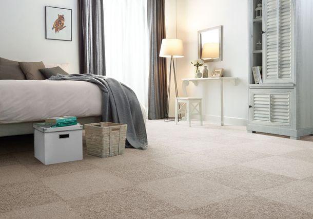 Luxus Qualitäts Teppichfliesen Velours Aristo 50x50