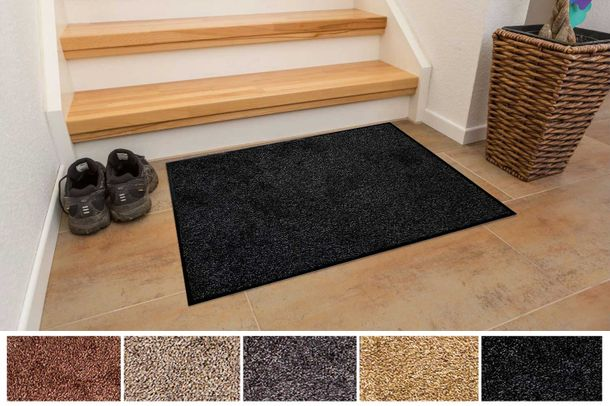 Dirt Barrier Mat PURE Non-Slip Door Mat Dirt Trapper Mat Cotton