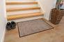 Schmutzfangmatte PURE Türmatte Saugstark Fußmatte Baumwolle Grau Beige Braun 20