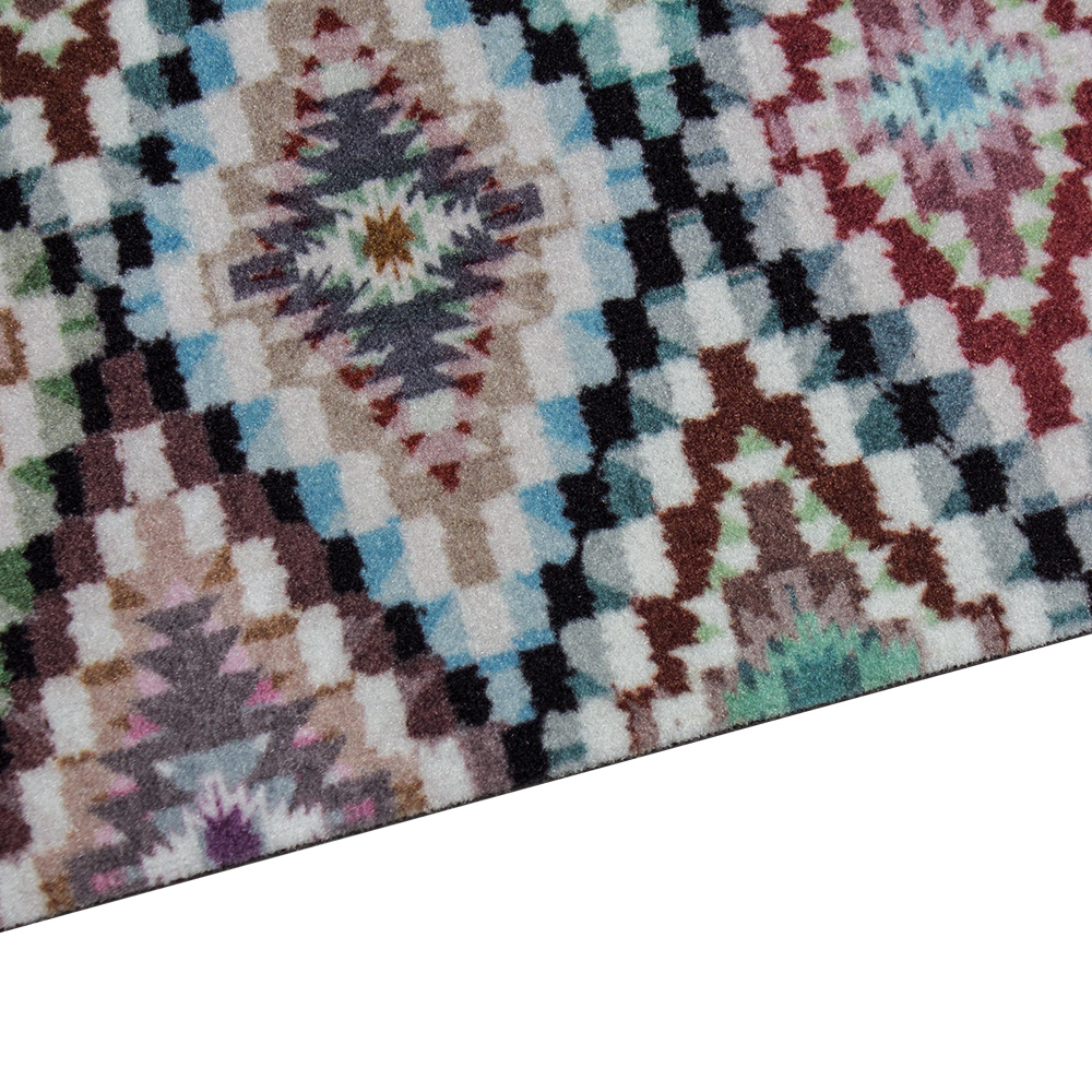 Washable Hall Rugs: Runner Rug Carpet Runner Feather Ethno Washable Hallway Runner