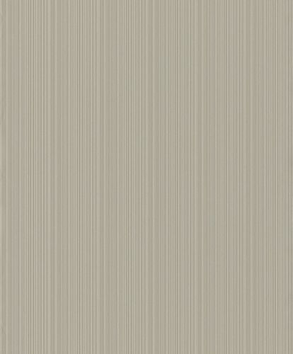 Wallpaper Rasch stripes textured taupe 431940