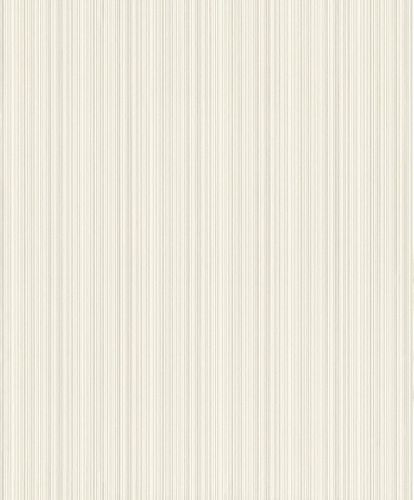 Non-woven Wallpaper Rasch stripes texture silver gloss 431971