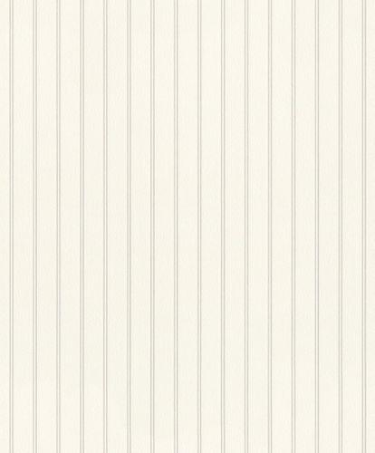 Vliestapete Rasch Streifen weiß silber Glanz 798333 online kaufen