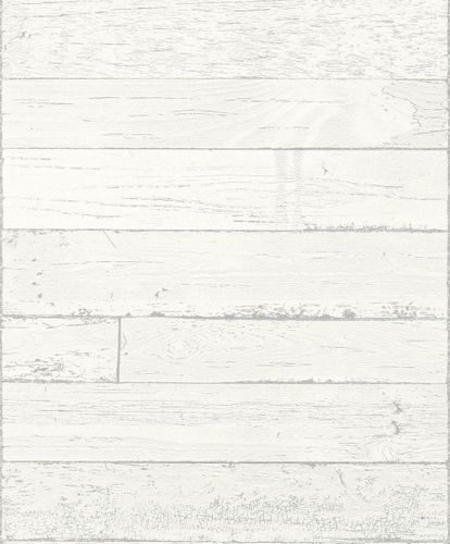 Wallpaper Rasch wood planks grey grey 799606