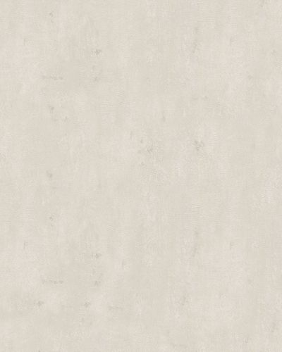 Non-Woven Wallpaper texture plaster look cream grey 59316