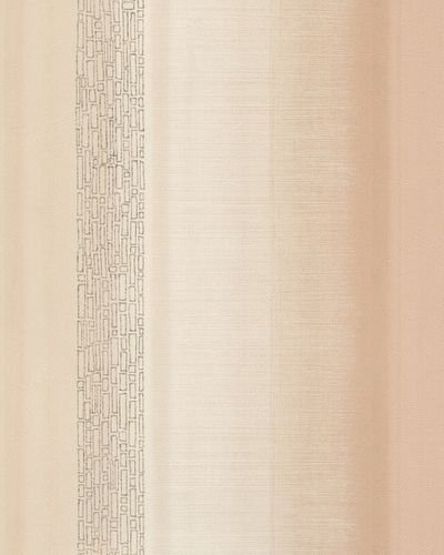 Wallpaper stripes design beige cream gloss Marburg 59322 online kaufen