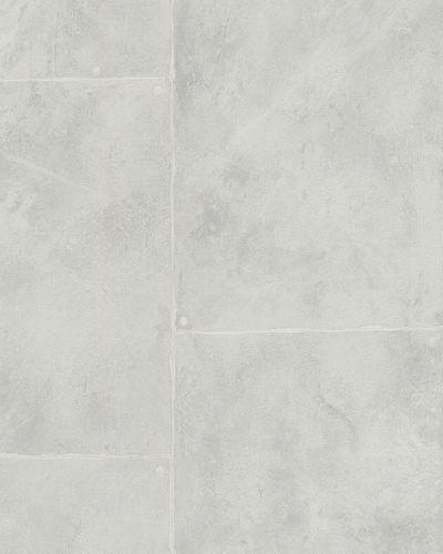 Wallpaper cement style slab grey grey gloss Marburg 59332 online kaufen