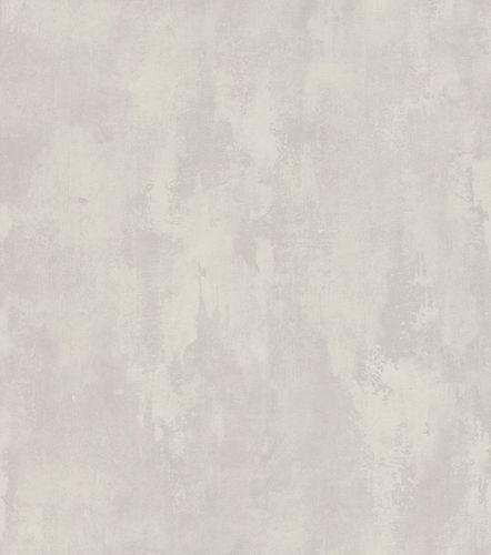 Wallpaper Rasch plaster style vintage grey grey 802122