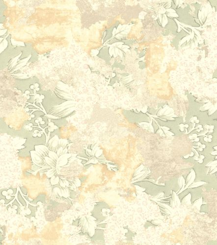 Wallpaper Rasch leaves vintage light grey beige 802542 online kaufen