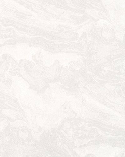 Wallpaper marble vintage white grey gloss Marburg 59412