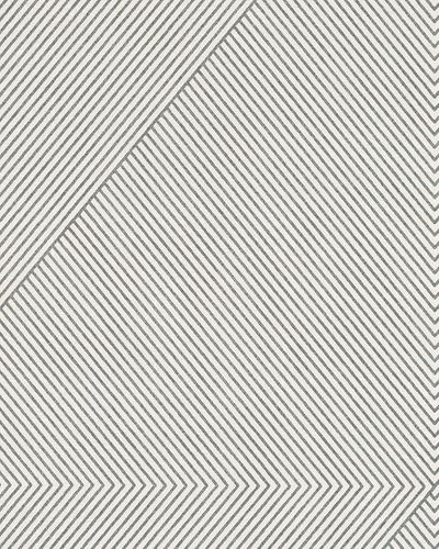Wallpaper stripes cream white black glitter Marburg 59426