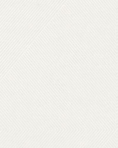 Wallpaper stripes vintage white grey Marburg 59427