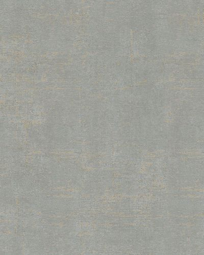 Wallpaper textured vintage grey gold gloss Marburg 59437