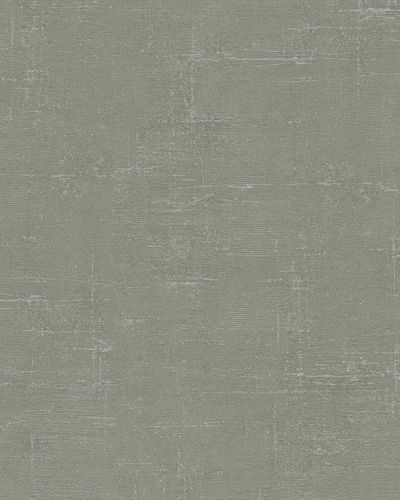 Wallpaper textured vintage green gloss Marburg 59439