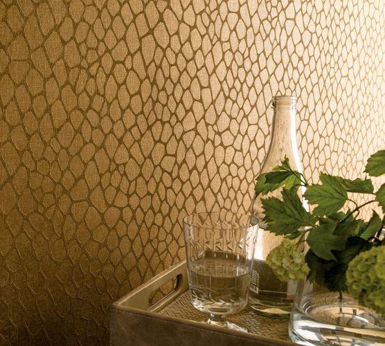 Wallpaper giraffe skin gold gloss Marburg 59115 online kaufen