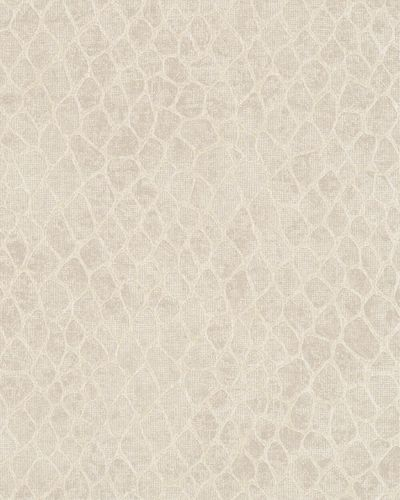 Wallpaper giraffe skin beige silver gloss Marburg 59116 online kaufen