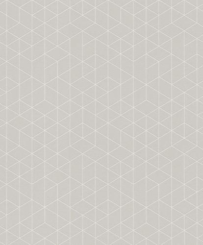 Wallpaper graphic light grey white Erismann 6466-37 online kaufen