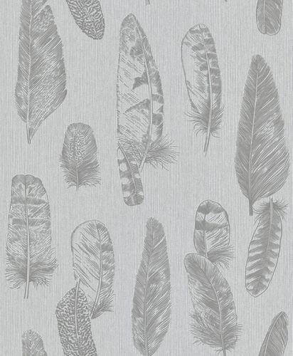 Wallpaper feathers grey Erismann 6467-15 online kaufen