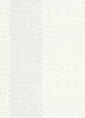 Wallpaper ornaments white grey gloss Erismann 6481-31 online kaufen
