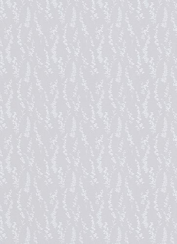 Wallpaper textured mottled white grey gloss Erismann 6483-31