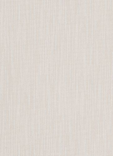 Wallpaper lines taupe white cream glitter Erismann 6484-02
