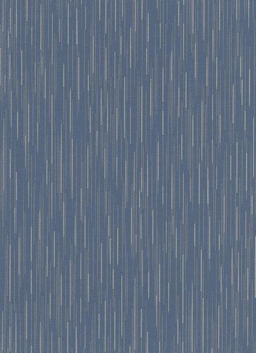 Wallpaper lines dark blue taupe glitter Erismann 6484-08 online kaufen