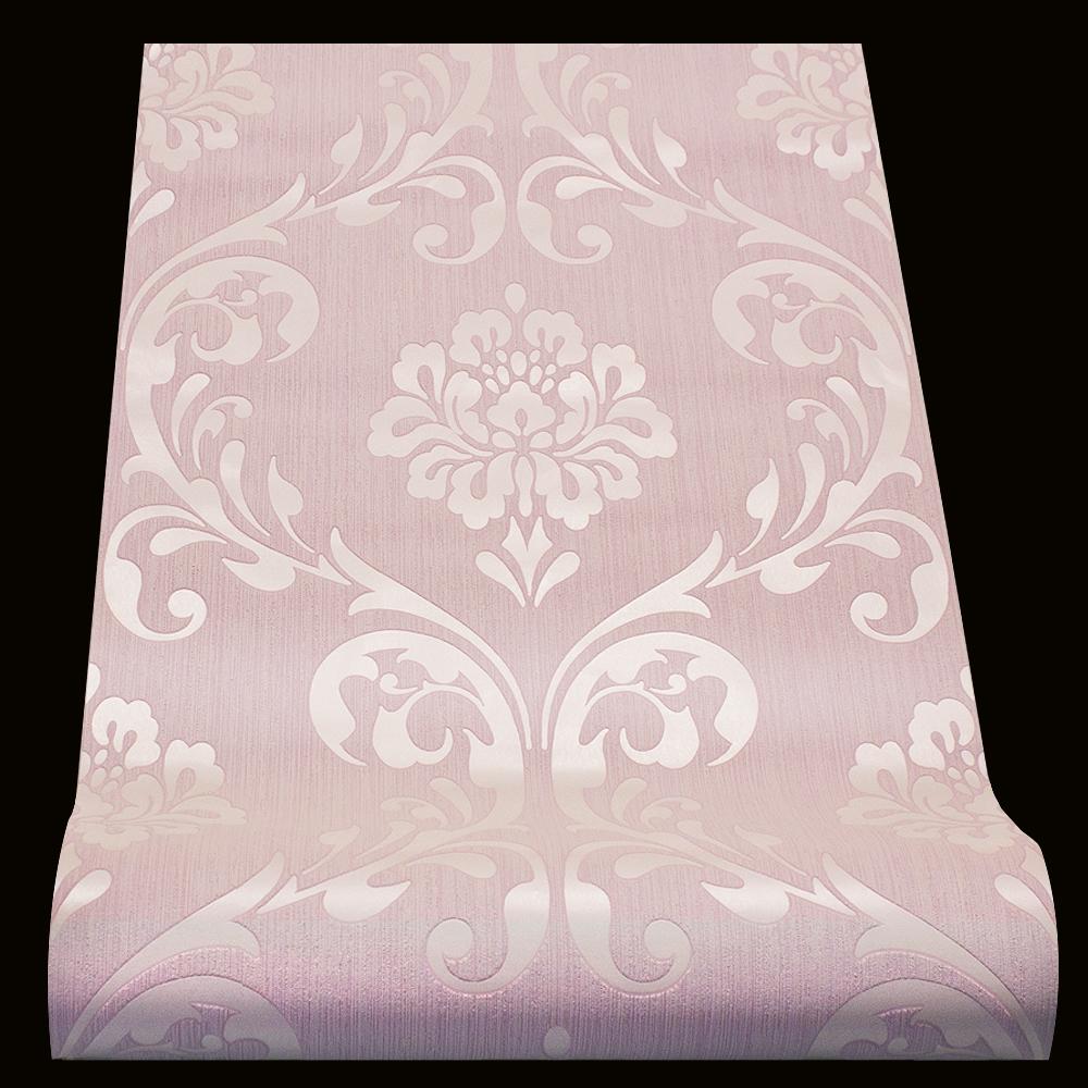vliestapete barock tapete ornament rosa glanz 13110 90. Black Bedroom Furniture Sets. Home Design Ideas