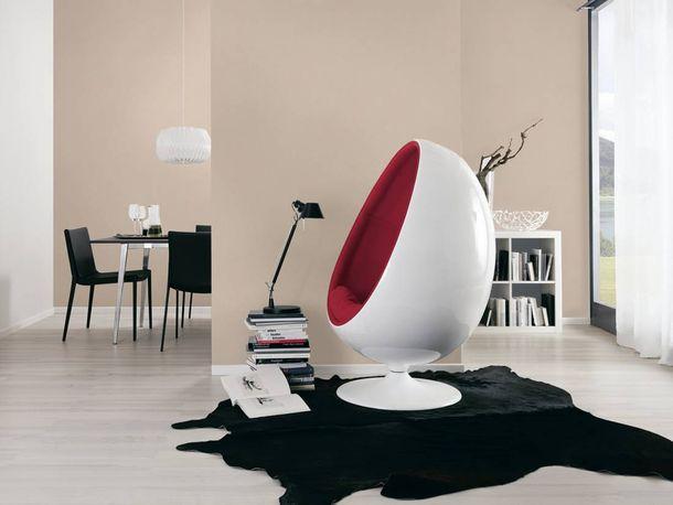 Wallpaper plain textured cream beige AS Creation 3459-43 online kaufen