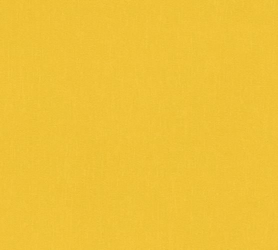 Wallpaper plain textured yellow AS Creation 3462-61