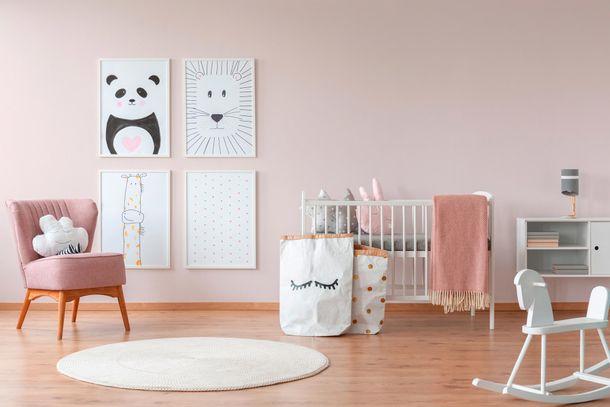 Non-Woven Wallpaper Plain light rose 3530-16 online kaufen