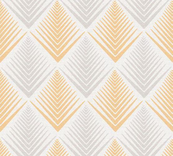 Wallpaper ethno white apricot glitter livingwalls 35606-1 online kaufen