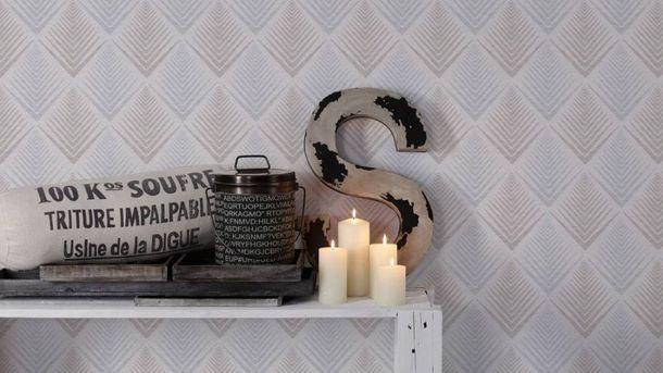 Wallpaper ethno white light blue glitter livingwalls 35606-2 online kaufen