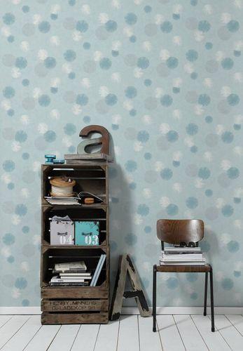 Wallpaper dandelion blue cream glitter livingwalls 35607-3 online kaufen