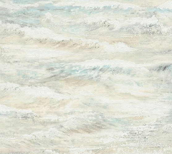 Wallpaper sea waves cream white beige livingwalls 35409-1 online kaufen