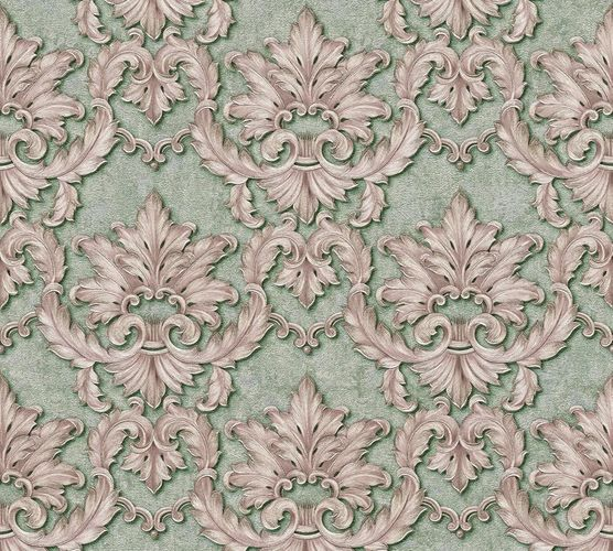 Non-woven wallpaper baroque floral green purple AP 34370-5 online kaufen